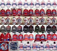 al por mayor k s-Montreal Canadiens Jerseys Hockey sobre hielo Invierno Clásico 11 Brendan Gallagher 27 Alex Galchenyuk 31 Carey Precio 67 Max Pacioretty 76 P K Subban