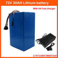 Wholesale High power W Lithium Battery V AH EBike battery V Battery pack Use V AH Cell A BMS and A Charger