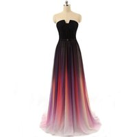 best quality photo prints - Plus Size Best Selling Imported From China Long Sexy High Quality Formal Ruffle Chiffon Gradient Women s Evening Party Dresses