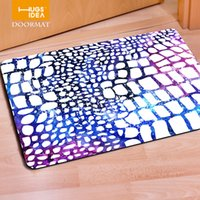 american home rugs - Galaxy Space Welcome Leopard Fur Home Decoration Carpets Stylish Modern Rugs For Bedroom Bathroom Carpet Mats Stripe Design