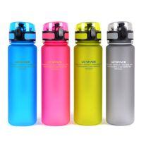 Bouteille d'eau Lovers Portable (500ml) Coupe d'eau en plastique Choix pour les sports Outdoor School livraison gratuite