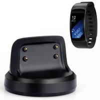 Wholesale New Arrival Magnetic Charging Cradle Dock Charger for Samsung Gear Fit SM R360 Smart Watch