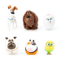 Wholesale the secret life of pets Styles Max Chloe Snowball Bulldog Doll duke Stuffed Soft PVC action Figure set New movie