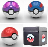 Wholesale New Poke Mon Go Design mAh Universal Power Banks Portable Mobile Phone Charger Powerbank with LED Light Retail Packaging