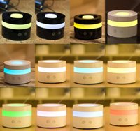 Wholesale Newest ml LED Aroma Humidifier Aromatherapy Essential Oil Diffuser Ultrasonic Cool Mist Function for Home Office Bedroom Room ST98 A