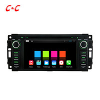 Wholesale 1024X600 Quad Core Android Car DVD Player for Chrysler C with Radio GPS Navi Wifi DVR Mirror Link Free Gifts