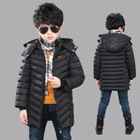Wholesale The Boy Long Winter Coat Thick Cotton Padded Jacket Boy s jacket