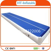 Wholesale High Quality x2m Inflatable Air Tumble Track Inflatable Gym Mat Inflatable Air Track for Sale