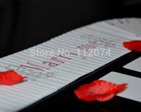 best poker cards - 2015 Best Poker love magic I Love You Merry Me magic Trick card magic magic accessories props