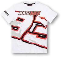 Wholesale NEW Marc Marquez Motogp T Shirt White Men Custom Moto GP Motorcycle Sports Casual T Shirts