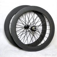 Wholesale ruedas carbono carretera inch bicycle wheels Carbon bmx bike wheels ruote in carbonio bici da corsa with powerway R13 hub