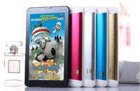 7 pouces dual core pc support 3G Tablet 2G 3G Sim appel fente pour carte Téléphone GPS WiFi FM Tablet PC 7 pouces 3G Phone Call Tablet MTK8312