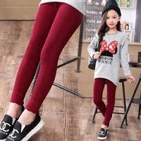 baby clothes direct - 2016 New Children Leggings Baby Girls Classic Knit Leggings Girl Legging Pants Children Clothing Trousers Kids Clothing Factory Direct