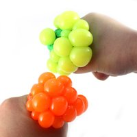 anti gag - Soft Anti Stress Ball Toys Novelty Gags Practical Jokes Funny Gadgets Grape Vent Ball Toy Soft Anti Stress Ball Toys