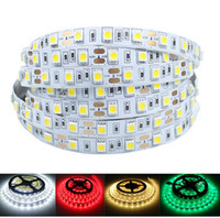 Wholesale 2016 LED Strip light SMD5050 LEDs m IP20 Warm Pure White Red Green RGB Flexible Leds indoor Ribbon strip LED DHL free