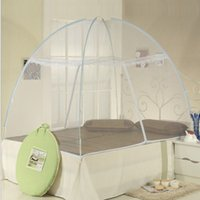 Wholesale Cheap Heightening Mongolian Yurt Net dome Automatically Open Mosq5 color