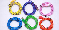 Wholesale Colorful Micro USB Charger Cable Adapter for Android i or