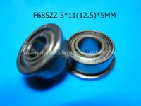 Precio de Rodamientos 5mm-Rodamientos de la brida F685ZZ Rodamiento profundo del surco del acero inoxidable del cromo del envío 685 F685Z F685ZZ 5 * 1112.5 * 5m m