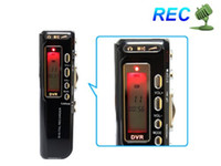 Wholesale 8GB Black USB Digital Voice Activated Recorder Mp3 player Dictaphone Speaker Microphone Mic