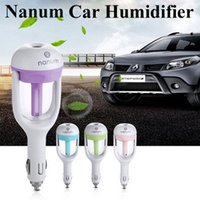 Wholesale Nanum Fashion Mini Charging Portable Water Bottle Steam Humidifier Air Mist Diffuser Purifier Car Office Room OTH245