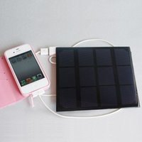 Wholesale Silicon Solar W V solar panels DIY solar charger for mobile phone mp3 power bank charging