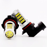 Car head and tail fog light auto accessory head light - 9006 SMD4014 LEDs Car Fog Tail Head Light Driving Bulb DRL Lamp HB4 LED Autos Car Accessories Lights Interior