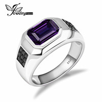 alexandrite engagement ring - 4ct Alexandrite Sapphire Engagement Wedding Ring Vintage For Men Real Solid Sterling Silver Amazing Fabulous Charm Jewelry