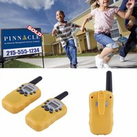 Wholesale 2016 Newest x RT Walkie Talkie W CH Two Way Radio For Kids Children Gift