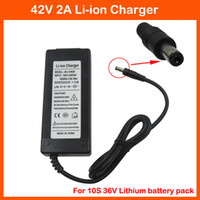 Wholesale 36V A DC Li ion battery charger Output V A charger Used for V S AH AH AH AH Ebike lithium battery charging