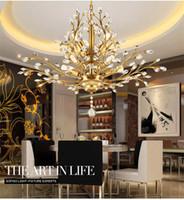 Wholesale Chandelier Lighting Lights x50cm Ceiling Fixture Pendant Lamp New Chandeliers V Retro modern minimalist chandelier