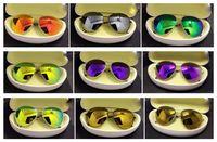 alloy grey - Mens Designer Brands Sunglasses UV400 lense Glasses HIGH Quality alloy SUN Glasses men women sunglasses mixed order