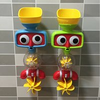 Wholesale 2016 New Children s Bath Water Toys Green Plastic A good partner in children s lives NO