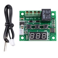 Wholesale W1209 Digital thermostat Temperature Control Switch DC V Sensor Module B00154 FASH