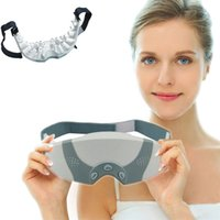 Wholesale electric eye care massager usb glasses Mask Migraine DC Electric Alleviate Fatigue Healthy health Care Forehead Eye massage