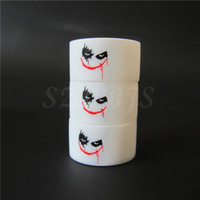 yes anti rubber product - New Vape band New products rubber anti skidding white color joker logo silicone vape band ring