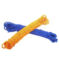 Wholesale 8MM diameter outdoor climbing rope military parachute lifesaving survival escape rope safety rope