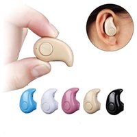 Wholesale Super small bluetooth wireless headset mini contact sports car hanging ear plugs type apple millet