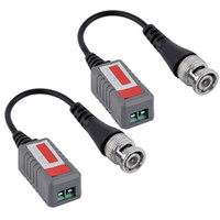 Wholesale 1 Channel Passive Video Transceiver for Balun BNC CCTV Connector CAT5 Cable