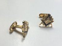 Wholesale 10 pairs free masons luxury masonry cuff button freemasonry cufflinks for mens sleeve buttons cuff links for sale designer brand
