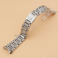 Wholesale 22mm Stainless Steel Watch Bands Strap Silver Mens Luxury Bracelet Replacement Wrist WatchBand For TAG