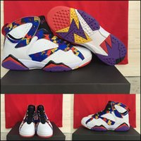 basketball court nets - with shoes Box Hot Sale Retro VII Nothing But Net Sweater Men Basketball Sports airs Kids shoes