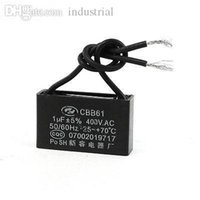 ac capacitor wiring - AC V uF CBB61 Type Two wire Nonpolar Ceiling Fan Motor Run Capacitor