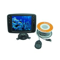 Wholesale Fish Finder Underwater Video Camera TV Line quot LCD Monitor M Cable Wide Angle Fishing Tackle Underwater Camera order lt no track