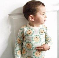 baby hoddies - kikikids Baby Sweater Toddler Autumn Winter Sweaters Orange Pattern Kids Outfits Infant Boys Girls Hoddies Kintted Pullovers