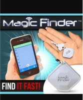 Wholesale Mini Bluetooth Anti Lost Location Magic Finder Sight Sound Key Finder For Any Smartphone Free App Way Tracking