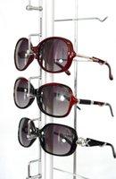 Wholesale ST016L hold for Lockable aluminium eyeglasses Display rod Glasses Sunglasses Rack Show