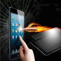 Wholesale High Quality H Explosion Proof Tempered Glass Screen Protector with retail box fit for iPad Air Air