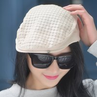 Wholesale Spring And Summer Fashion Mesh Vents Berets Outdoor Cool Sun Shade Female Hat Gorras Planas Breathable Quick Drying Visors