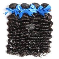 free shipping paypal - 2016 new coming peruvian human hair deep wave real virgin hair no shedding no tangling accept paypal