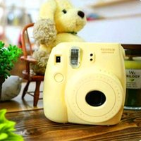 Wholesale Fuji Mini Camera Fujifilm Fuji Instax Mini Instant Film Photo Camera New Colors White Pink Yellow Blue Black